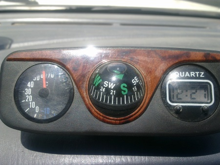 Dash Temperature on 19th Feb 2011 in Opuwo
