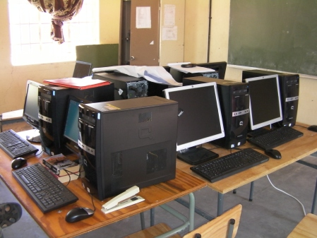 Omufitu North Combined School Computer Lab